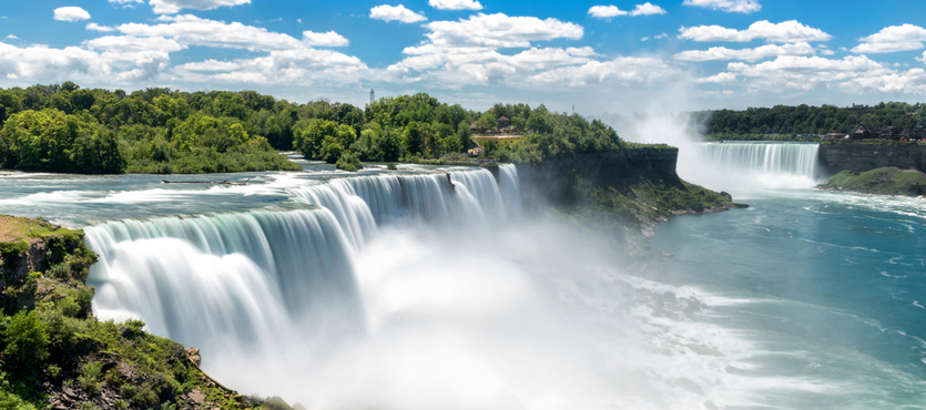 A Look at the Three Different Falls that Make Up Niagara Falls